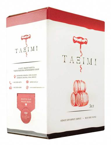 Taximi bag-in-box red dry