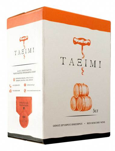 Taximi bag-in-box red semidry