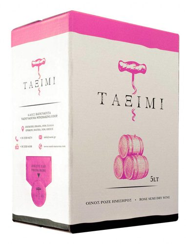 Taximi bag-in-box rose semidry