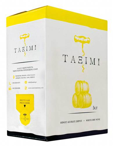 Taximi bag-in-box white dry